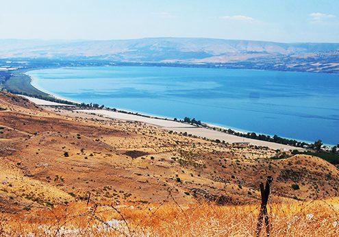 danau galilea photo