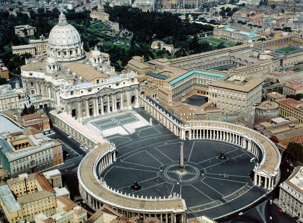 basilika santo petrus - berziarah ke Eropa img
