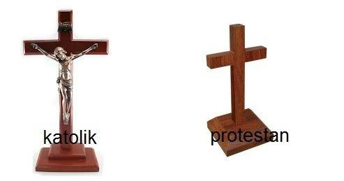 Beda Kristen Protestan dengan Katolik